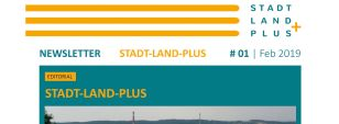 Stadt-Land-Plus Newsletter 1/2019