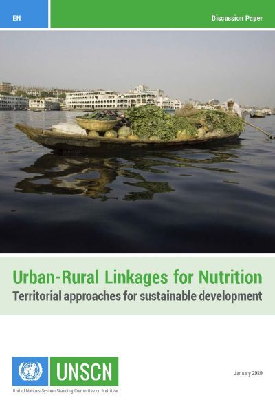 Cover UNSCN Urban-Rural Linkages for Nutrition