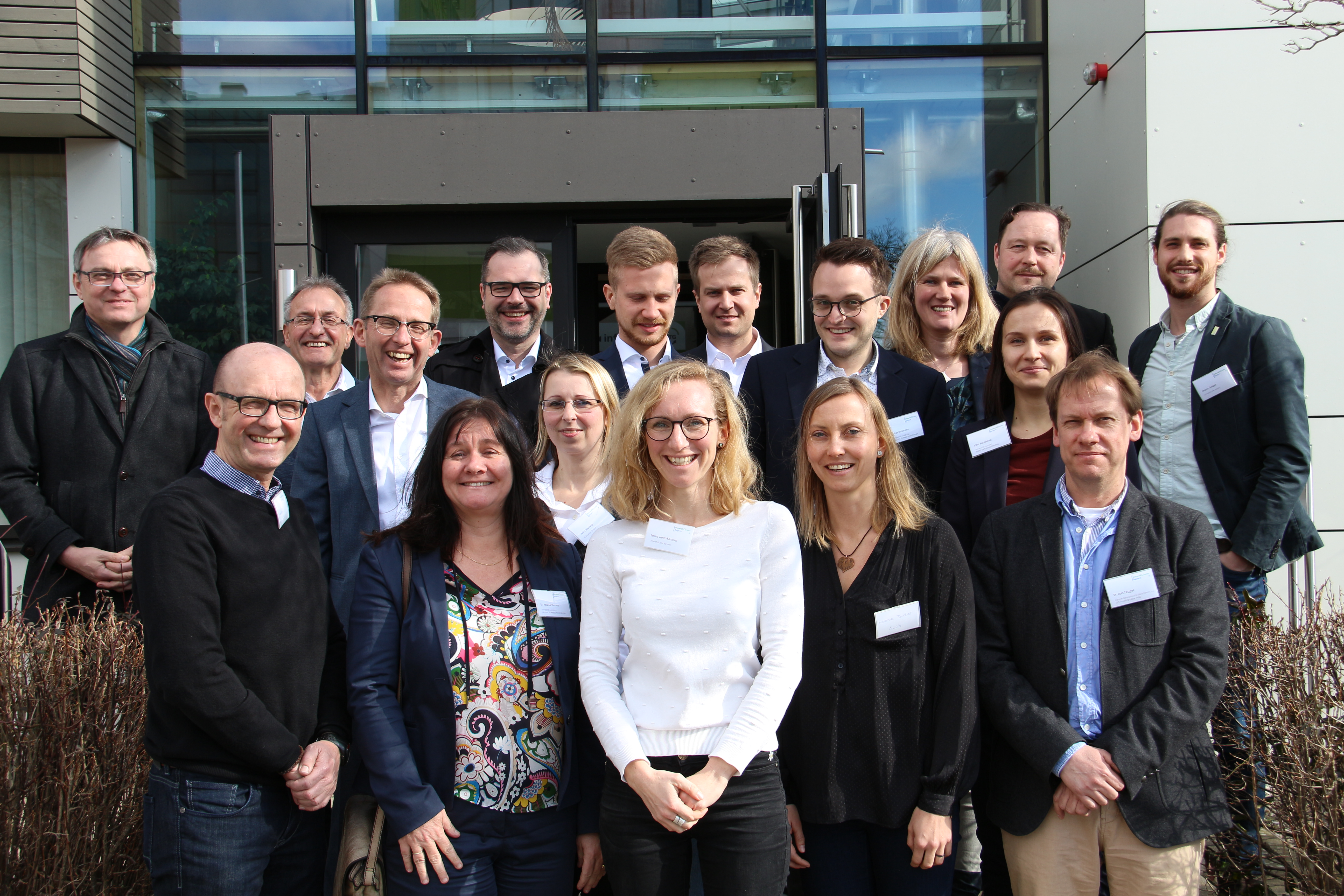reGIOcycle: partners during the kick-off meeting © Umweltcluster Bayern